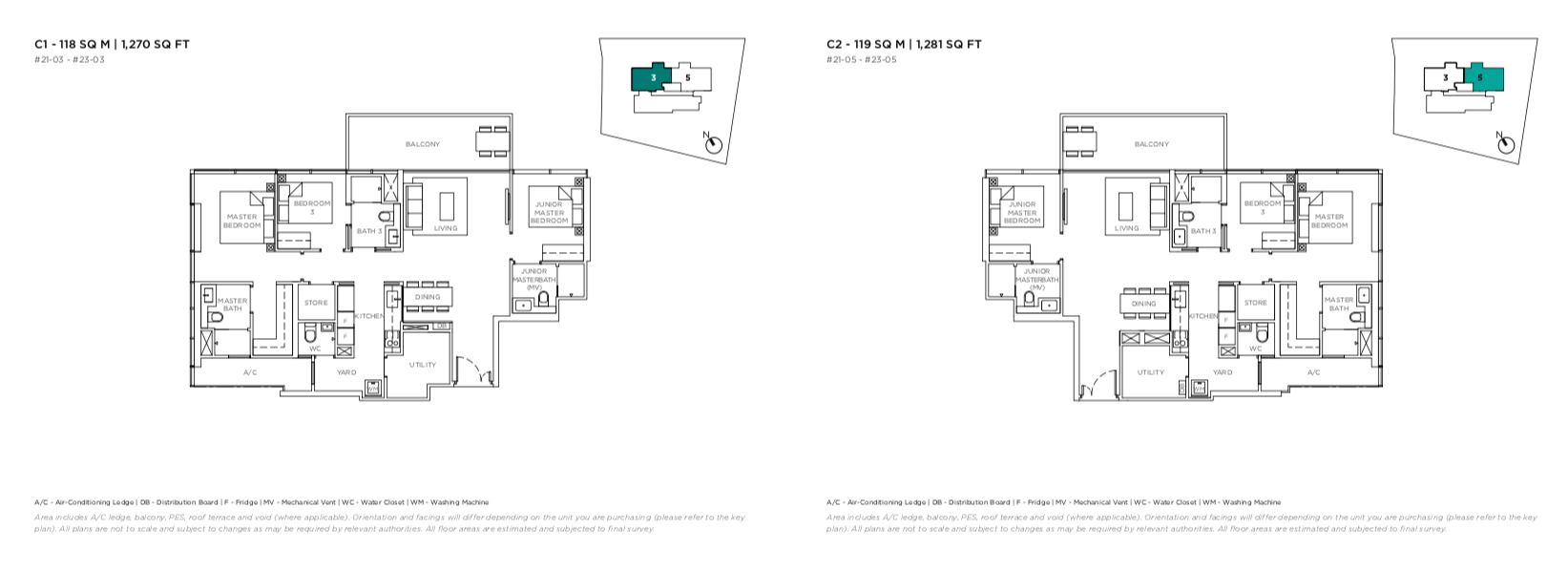 3 cuscaden floor plan