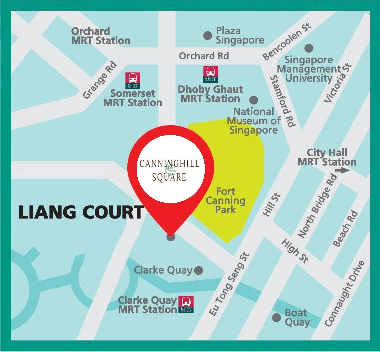 Canninghill Square MAP zN6900 - CanningHill Piers